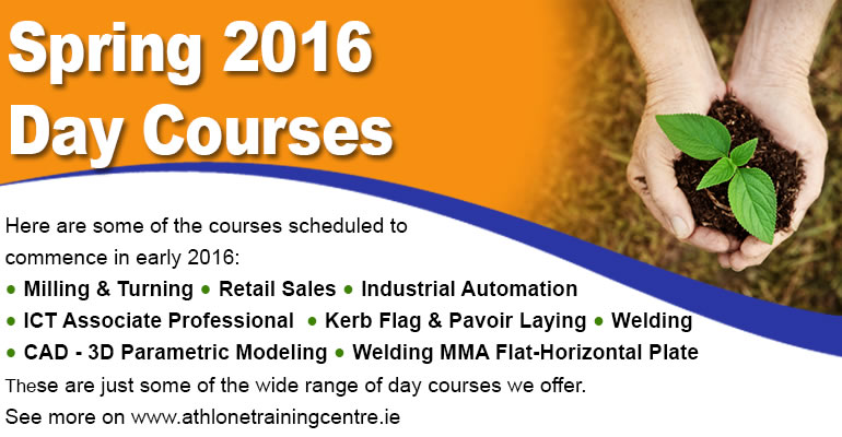 List of up coming day courses which can be found on the day courses page