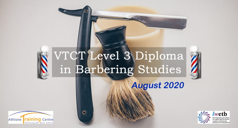 VTCT Level 3 Diploma in Barbering Studies